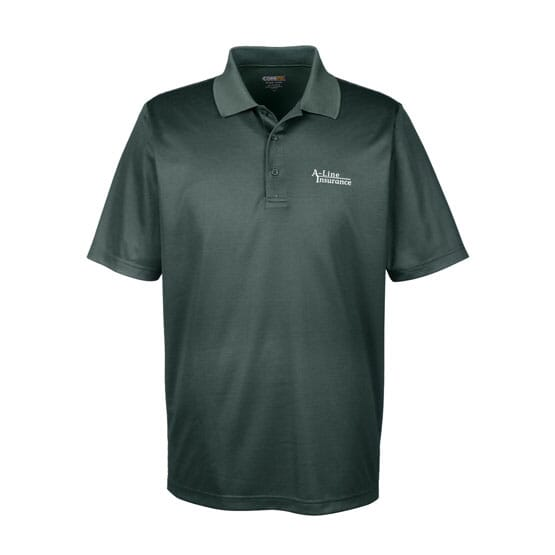 Core 365™ Microstripe Performance  Pique Polo- Men's