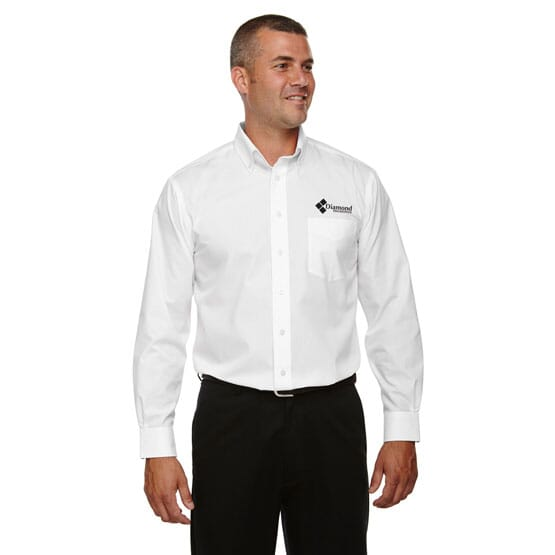 Devon & Jones Crown Collection™ Solid Broadcloth-Men's Tall