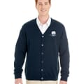 Harriton® Pilbloc™ V-Neck Button Cardigan Sweater- Men's