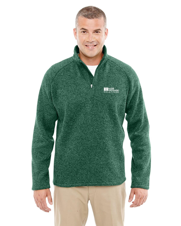 Green Half Zip Fleece