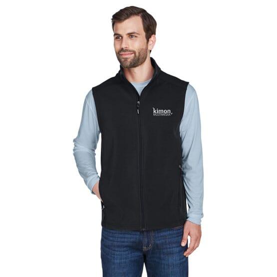 Core 365™ Two Layer Fleece Bonded Soft Shell Vest- Men's