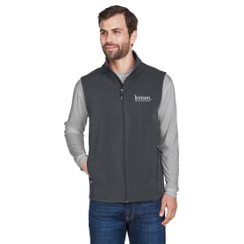 Core 365™ Two Layer Fleece Bonded Soft Shell Vest- Men's