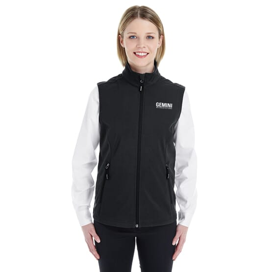Core 365™ Two Layer Fleece Bonded Soft Shell Vest- Ladies'