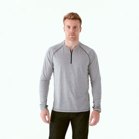 Quarter Zip Performance Top - Men's