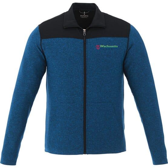 Color Block Knit Jacket - Men's