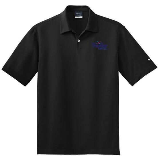 Nike® Golf Dri-Fit Pebble Texture Polo- Men's
