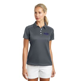 Nike® Golf Dri-Fit Pebble Texture Polo- Ladies'