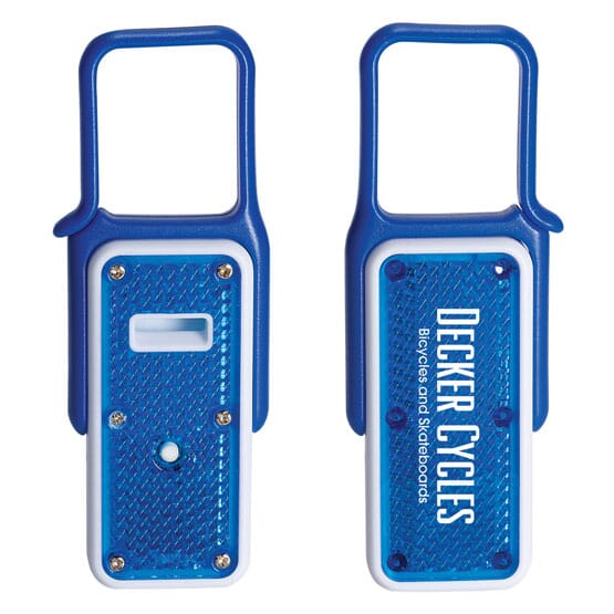 Clip-And-Go Whistle Safety Light