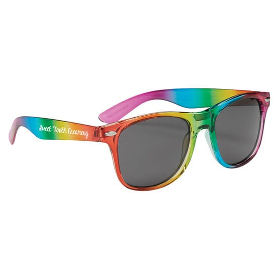 Cruise Retro Sunglasses - Rainbow