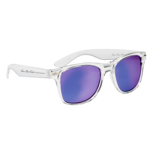 Cruise Retro Sunglasses - Crystalline
