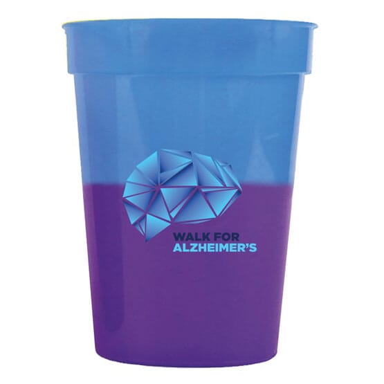 12 oz Chameleon Stadium Cup - Full Color