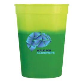 12 oz Chameleon Stadium Cup - Full Color