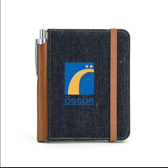 Denim Bound Notebook