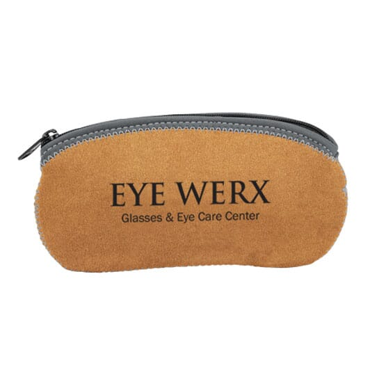 Suede Eyewear Holder