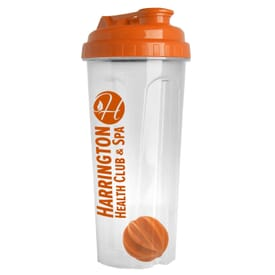 Fuel Up Fitness Clear Tumbler w/ Mixing Ball