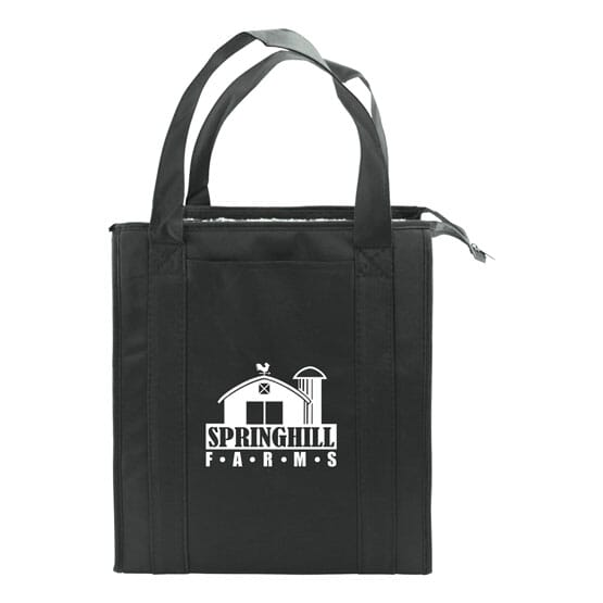Thermal Grocery Tote With Pocket