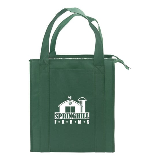 Thermal Grocery Tote With Pocket 120538
