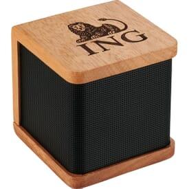 Mini Mahogany Bluetooth® Speaker