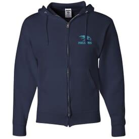 Jerzees® Nublend® Full-Zip Hooded Sweatshirt