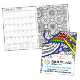 2021 14-Month Doodle Planner