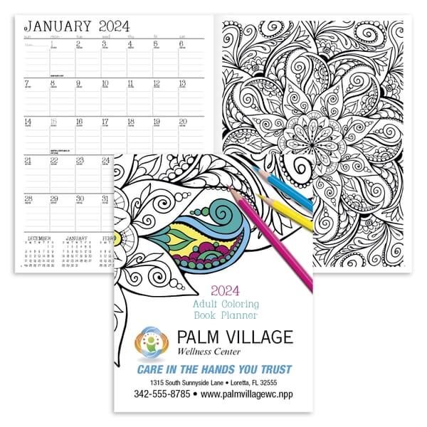 2021 14-Month Doodle Planner