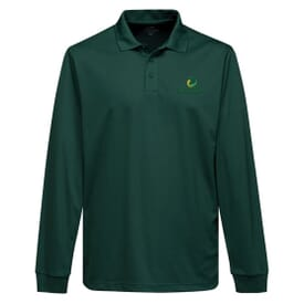 Men's Everyday Long Sleeve Polo - Embroidery