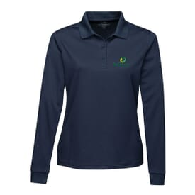 Ladies' Everyday Long Sleeve Polo - Embroidery