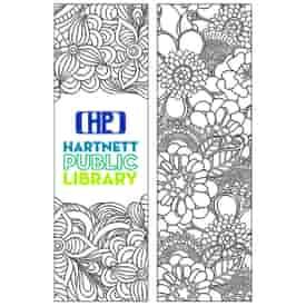 Coloring Bookmark