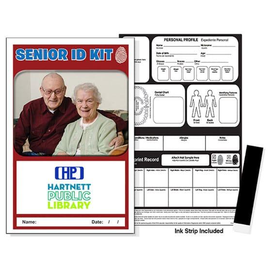 Senior safety identification kit