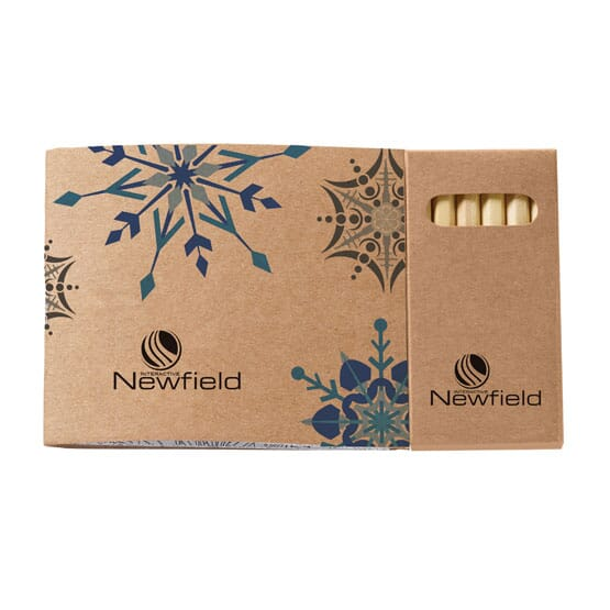 Kraft Paper Coloring Book with Colored Pencils
