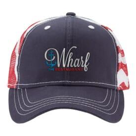 Patriotic Trucker Cap