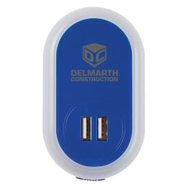 USB AC Adapter With Nightlight