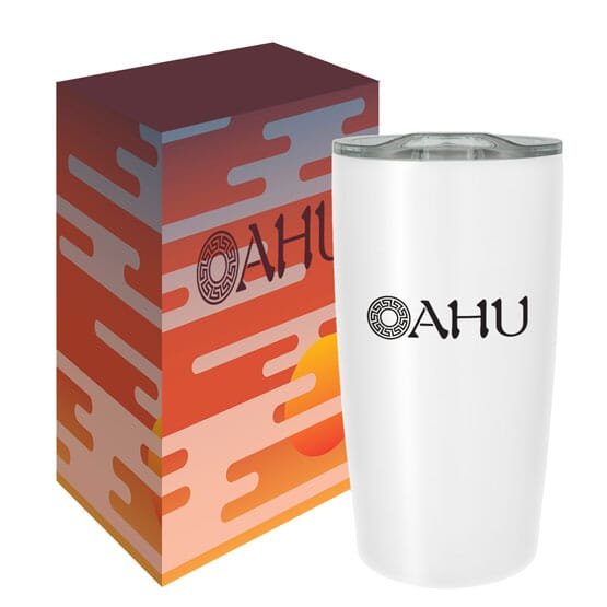 Insulated tumbler with customized gift box