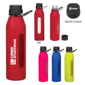 24 Oz Electrify Glass Sports Bottle