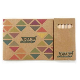 Kraft Paper Custom Cover Coloring Book Set