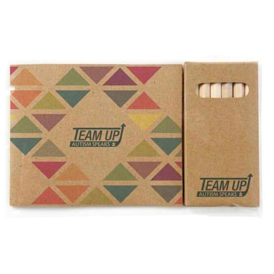 Kraft Paper Custom Cover Coloring Book Set