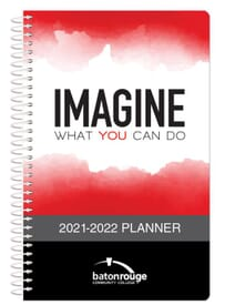 2021 Full Color Cover Academic Weekly Planner