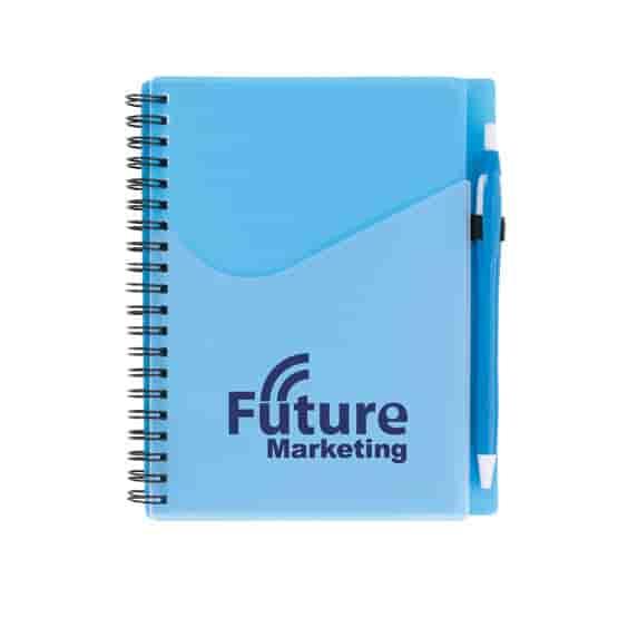 Contour Notebook & Pen Combo