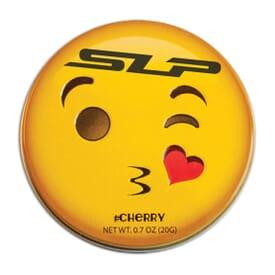 Emoji Cherry Mints Tin- Kissy Face