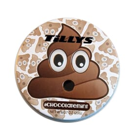 Emoji Chocolate Mints Tin - Pile Of Poo