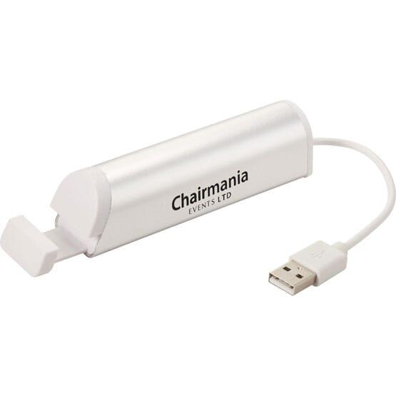 Aluminum 3-In-1 USB Hub