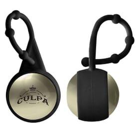 Metallic Lip Balm Ball with Carabiner