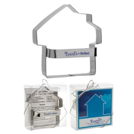 Metal Cookie Cutter- House