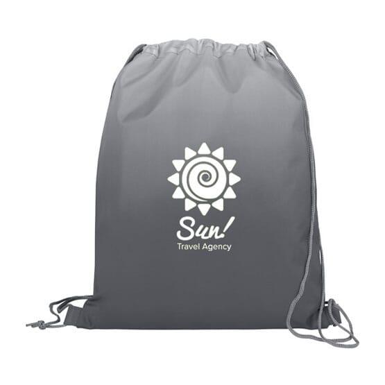 Ombré Drawstring Backpack