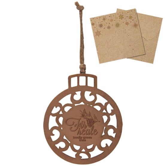 Customized wooden holiday ornaments