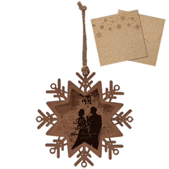 Keepsake Wooden Ornament