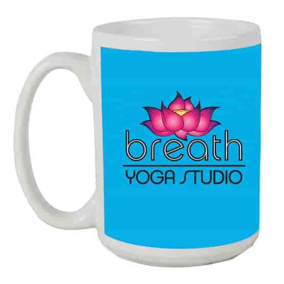 15 oz Full Color Ceramic Mug