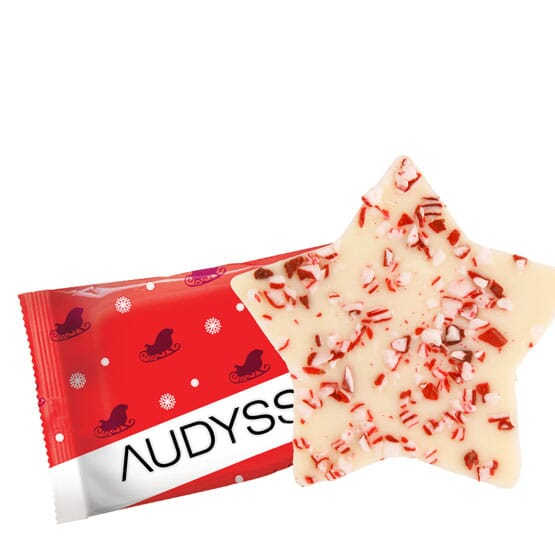 Personalized Peppermint<br> Bark Candies