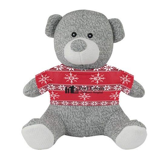 Cuddly Teddy Bear with Custom T-Shirt