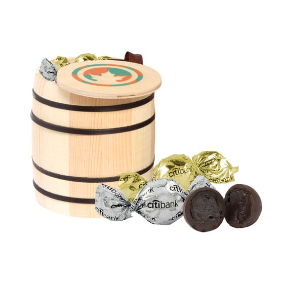 Barrel of Chocolate Truffles